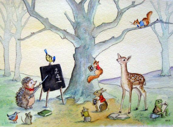 Image result for school woodland animals